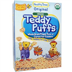 Healthy Times, Organic Teddy Puffs, Original, 5.5 oz (156 g)