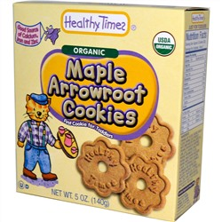Healthy Times, Organic Maple Arrowroot Cookies, 5 oz (140 g)