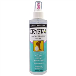 Crystal Body Deodorant, Foot Deodorant Spray, 8 fl oz (240 ml)