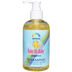 Rainbow Research, Baby Oh Baby, Herbal Shampoo, Scented, 8 fl oz