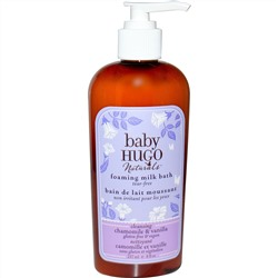 Hugo Naturals, Baby, Foaming Milk Bath, Chamomile & Vanilla, 8 fl oz (237 ml)