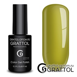 Гель-лак Grattol Color Gel Polish - тон  №189 Chartreuse