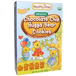 Healthy Times, Organic, Chocolate Chip Hugga Bear Cookies, 6.5 oz (182 g)