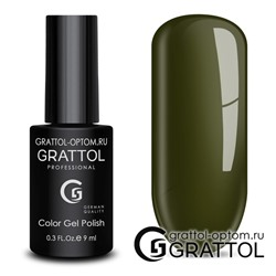 Гель-лак Grattol Color Gel Polish - тон  №192 Dark Olive