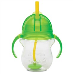 Munchkin, Weighted Flexi- Straw Cup, 6+ Months, 7 oz (207 ml)
