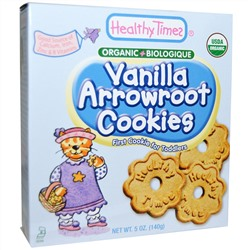 Healthy Times, Vanilla Arrowroot Cookies, 5 oz (140 g)