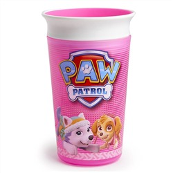 Munchkin, Paw Patrol, Miracle 360 Cup, Girl, 12+ Months, 9 oz (266 ml)