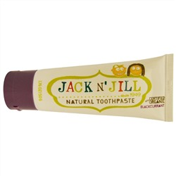 Jack n' Jill, Natural Toothpaste, with Certified Organic Blackcurrant, 1.76 oz (50 g)