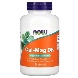 Now Foods, Cal-Mag DK, 180 капсул