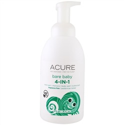 Acure Organics, Bare Baby, 4-in-1 Foamer, Fragrance Free, 16 fl oz (473 ml)