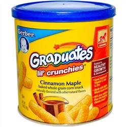 Gerber, Graduates, Lil' Crunchies, Cinnamon Maple, 1.48 oz (42 g)