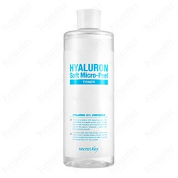 Тонер гиалуроновый Secret Key Hyaluron Soft Micro-Peel Toner