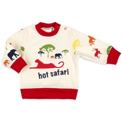 "Кофточка ""Hot safari"" IDEA KIDS 100%  хлопок, интерлок"