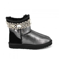 Jimmy Choo Multi Crystals Glitter Black
