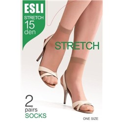 Conte Esli Stretch Носки 15 den, 2 пары