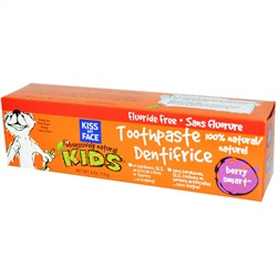 Kiss My Face, Obsessively Natural Kids, Toothpaste, Berry Smart, 4 oz (113 g)