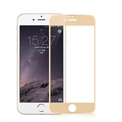 4D Стекло для iPhone 6/6S Gold